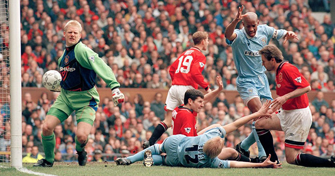 Manchester United vs Coventry City del 8 de abril de 1996 - Odio Eterno Al Fútbol Moderno