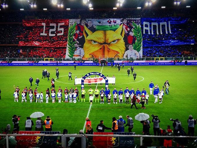 Derby della Lanterna en el Stadio Luigi Ferraris - Odio Eterno Al Fútbol Moderno