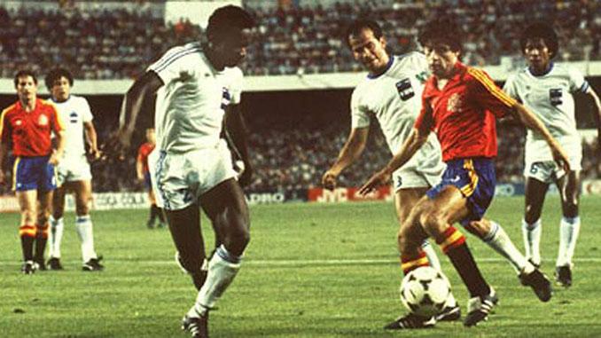 España tuvo un decepcionante debut ante Honduras en el Mundial '82 - Odio Eterno Al Fútbol Moderno