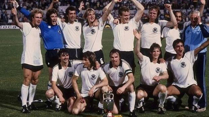Alemania ganó su segunda Eurocopa en 1980 - Odio Eterno Al Fútbol Moderno