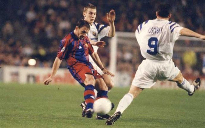 FC Barcelona vs Dinamo de Kiev de 1997 - Odio Eterno Al Fútbol Moderno