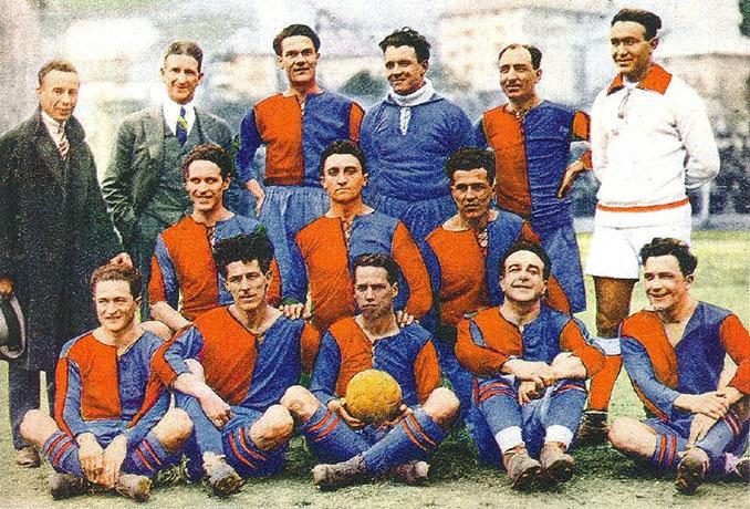 Genoa CFC en 1924 - Odio Eterno Al Fútbol Moderno