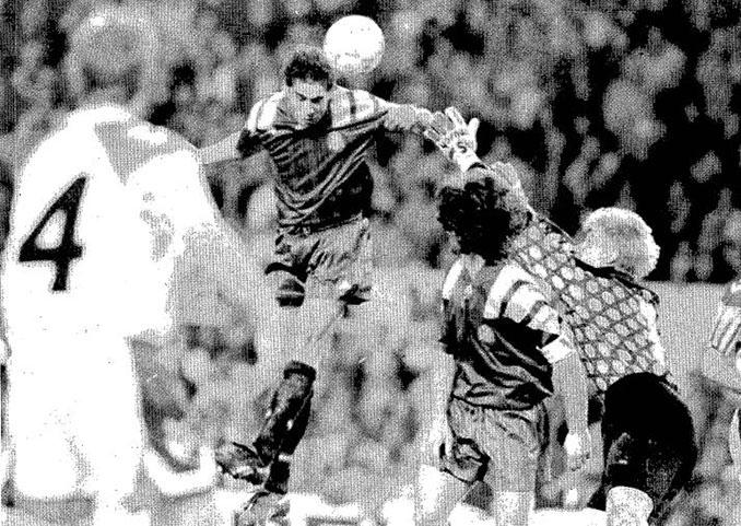 El gol de Hierro a Dinamarca clasificó a España para el Mundial de 1994 - Odio Eterno Al Fútbol Moderno