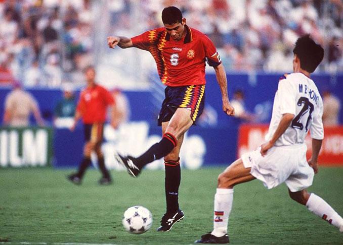 España empezó su andadura en el Mundial 1994 ante Corea del Sur - Odio Eterno Al Fútbol Moderno