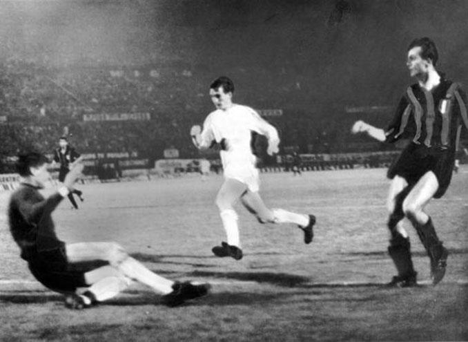 Inter vs Real Madrid de la final de la Copa de Europa de 1964 - Odio Eterno Al Fútbol Moderno
