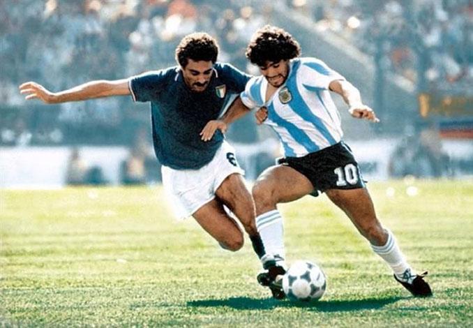 El marcaje de Gentile a Maradona en 1982 es uno de los más célebres de la historia - Odio Eterno Al Fútbol Moderno