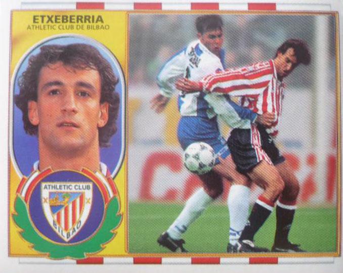 Cromo de Joseba Etxeberria - Odio Eterno Al Fútbol Moderno