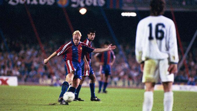 Koeman selló la remontada ante el Dinamo de Kiev en 1993 - Odio Eterno Al Fútbol Moderno