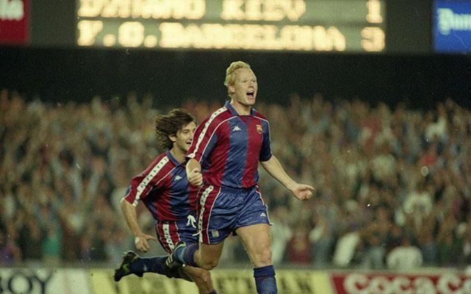 Koeman marcó el cuarto gol en el mejor partido del Dream Team - Odio Eterno Al Fútbol Moderno