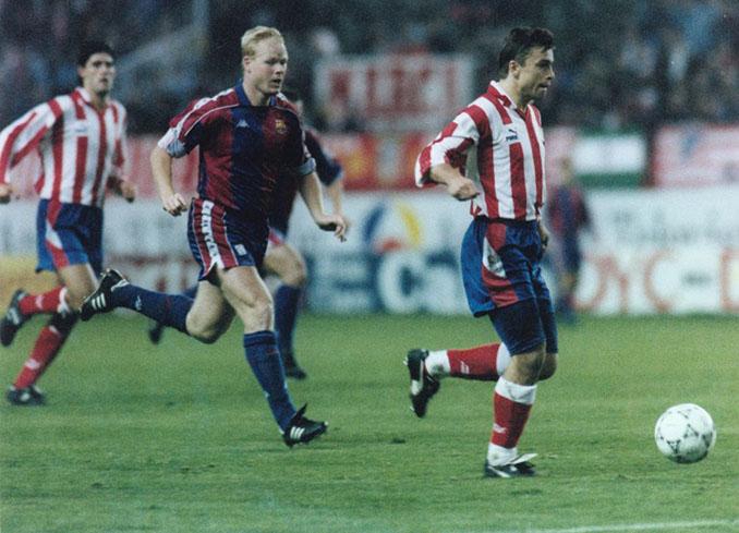 Kosecki fue el héroe de la remontada del Atlético de Madrid al Barcelona en 1993 - Odio Eterno Al Fútbol Moderno