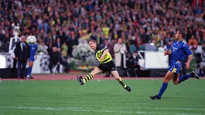Lars Ricken marcó nada más salir en la final de la Copa de Europa de 1997 - Odio Eterno Al Fútbol Moderno