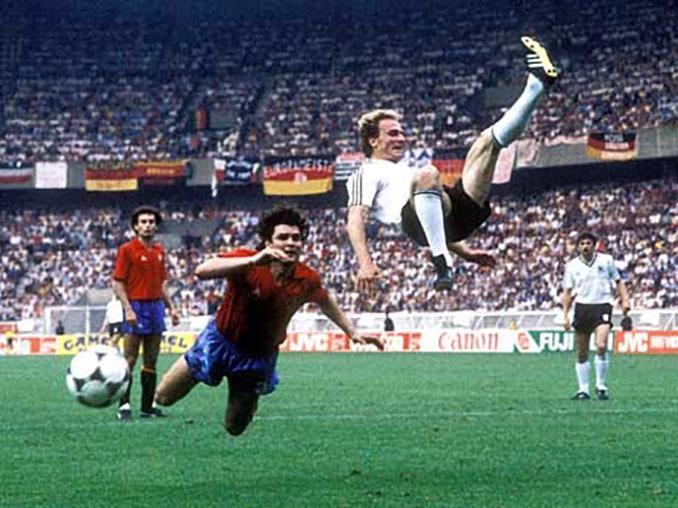 España vs Alemania de la Eurocopa 1984 - Odio Eterno Al Fútbol Moderno