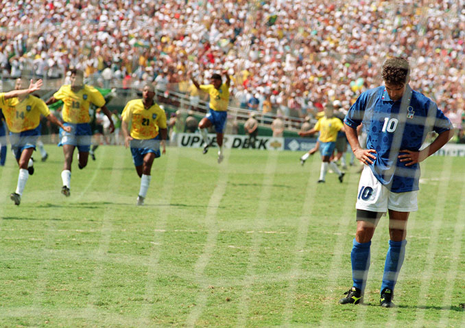 Roberto Baggio falló el penalti definitivo en la final del Mundial 1994 - Odio Eterno Al Fútbol Moderno