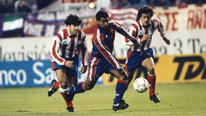 Romario en el Atlético de Madrid vs Barcelona de 1993 - Odio Eterno Al Fútbol Moderno