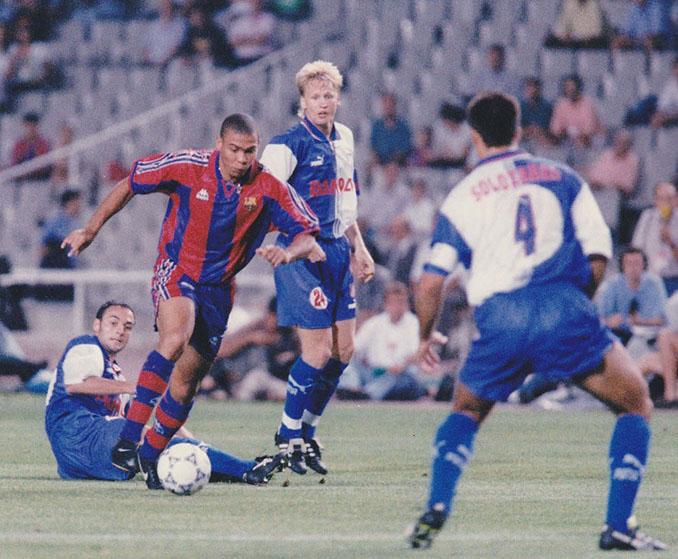 Ronaldo fue una pesadilla para el Atlético de Madrid en la 96-97 - Odio Eterno Al Fútbol Moderno