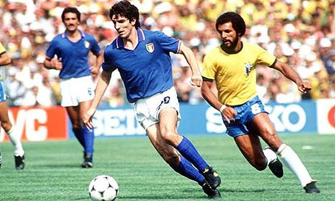 Rossi fue el héroe italiano en la Copa del Mundo de 1982 - Odio Eterno Al Fútbol Moderno