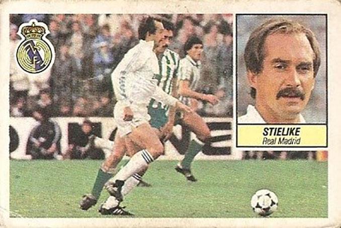 "Cromo de ""Uli ""Stielike - Odio Eterno Al Fútbol Moderno"