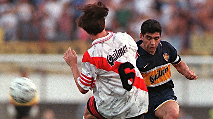 Superclásico de 1997, el último partido de Maradona - Odio Eterno Al Fútbol Moderno