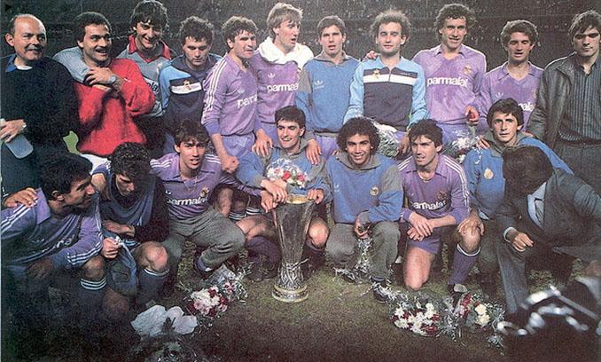 Real Madrid campeón de la Copa de la UEFA 1985-1986 - Odio Eterno Al Fútbol Moderno