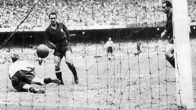 Gol de Zarra a Inglaterra en 1950 - Odio Eterno Al Fútbol Moderno