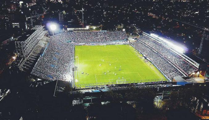 Vista aérea el Gran Parque Central -Odio Eterno Al Fútbol Moderno