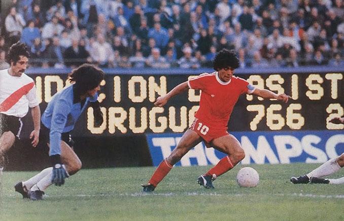 Diego Armando Maradona en Argentinos Juniors - Odio Eterno Al Fútbol Moderno