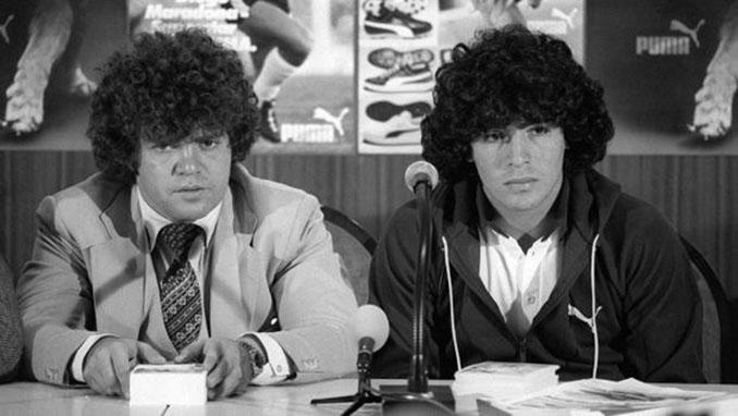 Diego Maradona y su primer representante, Jorge Cyterszpiler - Odio Eterno Al Fútbol Moderno