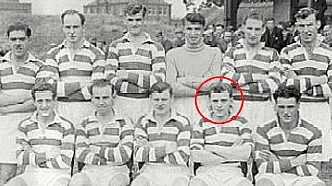 Sean Connery en él Bonnyrigg Rose Athletic FC a comienzos de los años 50 - Odio Eterno Al Fútbol Moderno