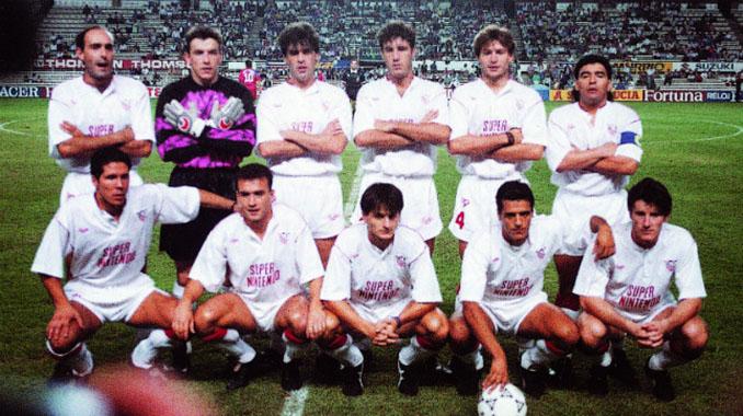 Sevilla FC en la temporada 1992-1993 - Odio Eterno Al Fútbol Moderno