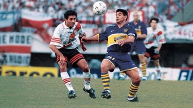 25 de octubre de 1997. River vs Boca. El último partido de Maradona - Odio Eterno Al Fútbol Moderno
