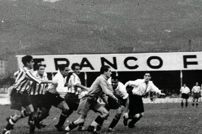 El Atlético de Madrid mantuvo la categoría en 1939 tras derrotar 3-1 a Osasuna - Odio Eterno Al Fútbol Moderno