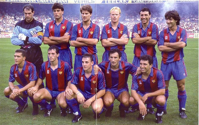 FC Barcelona en la temporada 1990-1991 - Odio Eterno Al Fútbol Moderno