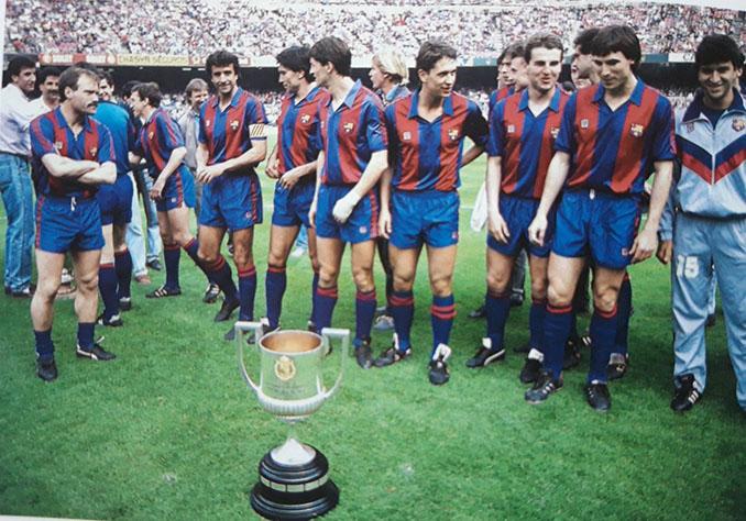 FC Barcelona campeón de la Copa del Rey de 1988 - Odio Eterno Al Fútbol Moderno