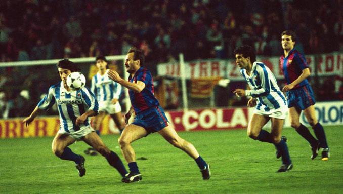 Barcelona vs Real Sociedad en la final de la Copa del Rey de 1988 - Odio Eterno Al Fútbol Moderno