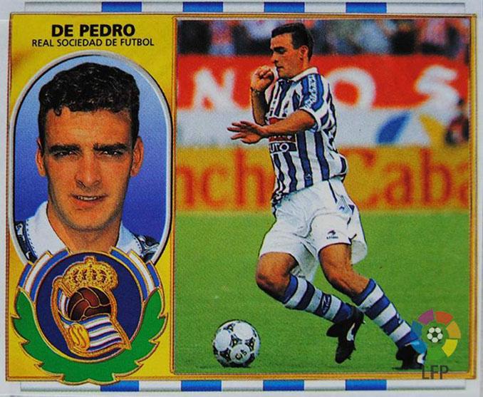 Cromo de Javier de Pedro - Odio Eterno Al Fútbol Moderno