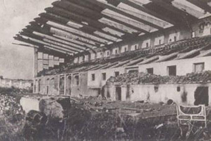 Estadio de Buenavista destruido en la Guerra Civil Española - Odio Eterno Al Fútbol Moderno