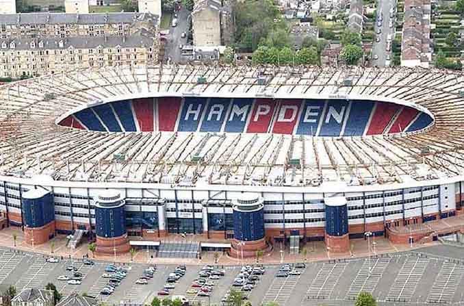 Hampden Park, templo del fútbol escocés - Odio Eterno Al Fútbol Moderno