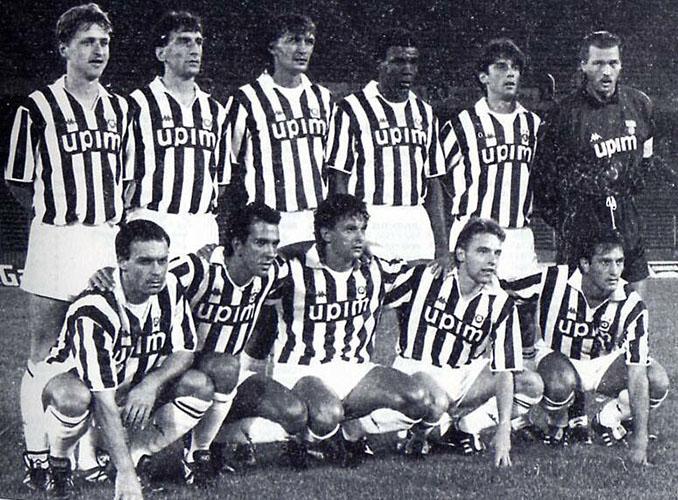 Juventus de Turín en la temporada 1990-1991 - Odio Eterno Al Fútbol Moderno