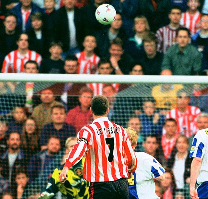 El gol de Matt Le Tissier al Manchester United, una de sus grandes obras de arte sobre el césped - Odio Eterno Al Fútbol Moderno