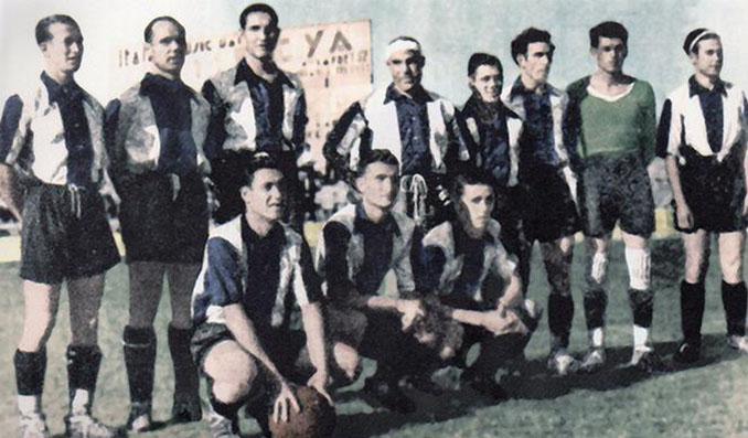 Levante campeón de la Copa de la España Libre en 1937 - Odio Eterno Al Fútbol Moderno