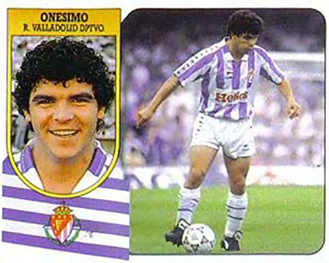 Cromo de Onésimo - Odio Eterno Al Fútbol Moderno
