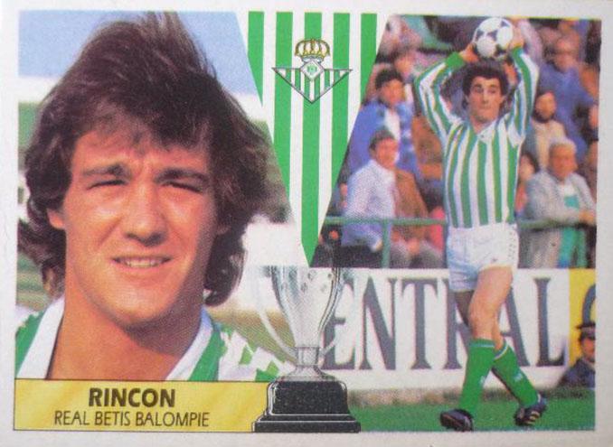 """Cromo de """"Poli"""" Rincón - Odio Eterno Al Fútbol Moderno"""