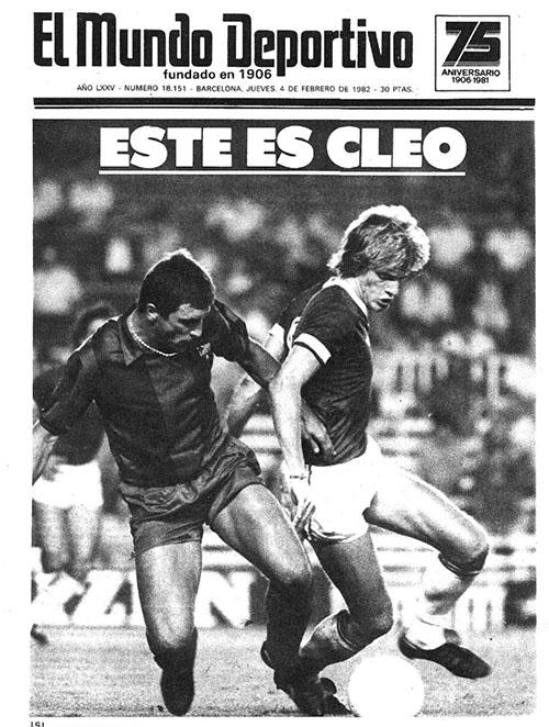 Mundo Deportivo anunciando el fichaje de Cléo Hickman - Odio Eterno Al Fútbol Moderno