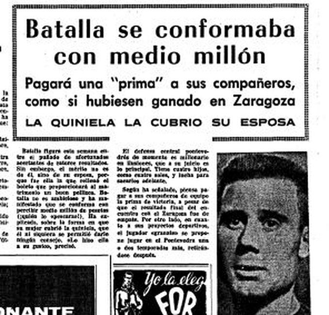 Noticia sobre la quiniela de Batalla - Odio Eterno Al Fútbol Moderno