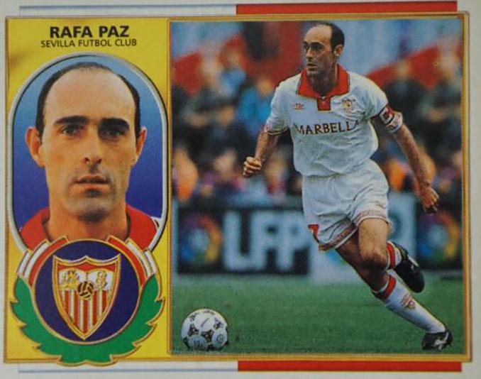 Cromo de Rafa Paz - Odio Eterno Al Fútbol Moderno