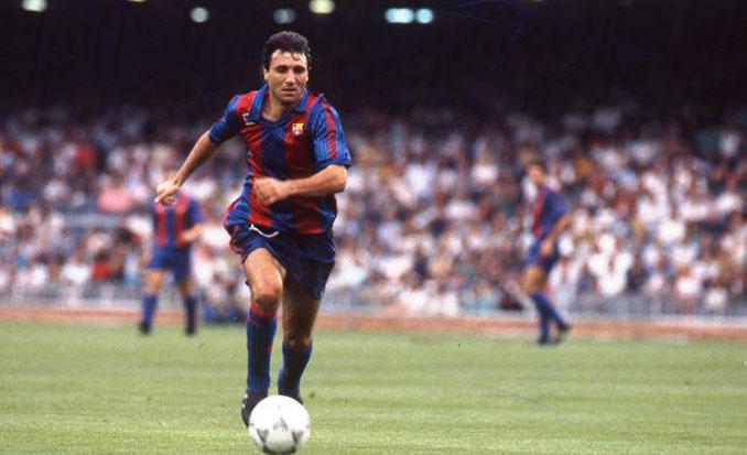 Stoichkov marcó dos goles en el Barcelona vs Juventus de 1991 - Odio Eterno Al Fútbol Moderno