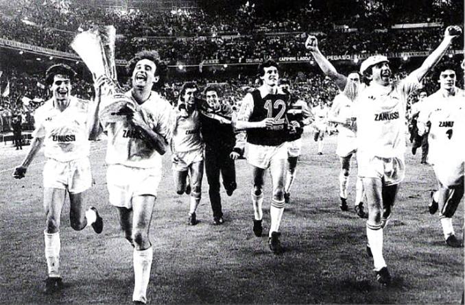 Real Madrid campeón de la Copa de la UEFA de 1985 - Odio Eterno Al Fútbol Moderno