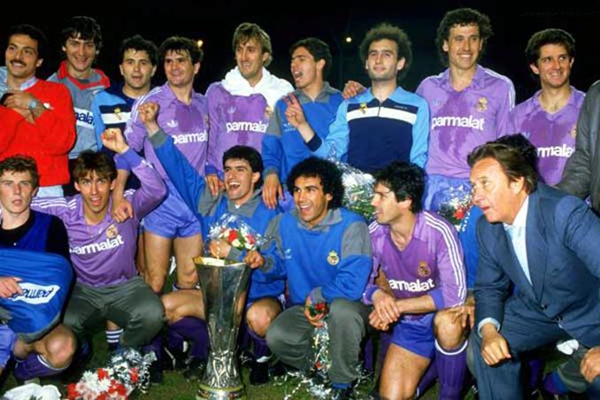 Real Madrid campeón de la Copa de la UEFA de 1986 - Odio Eterno Al Fútbol Moderno