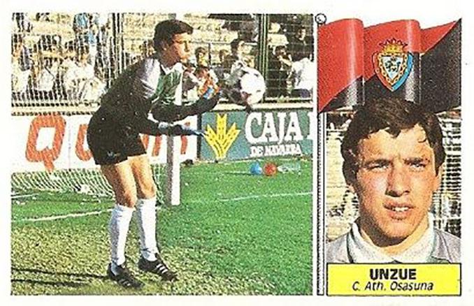 Cromo de Juan Carlos Unzué - Odio Eterno Al Fútbol Moderno