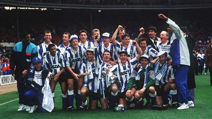 Sheffield Wednesday campeón de la League Cup en 1991 - Odio Eterno Al Fútbol Moderno